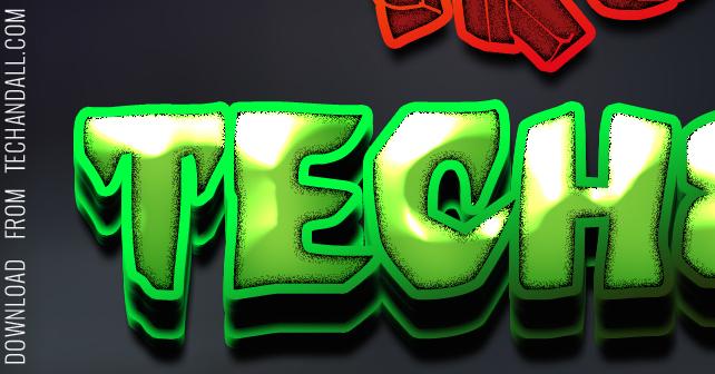techndall_texteffect_halloween_preview1